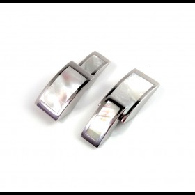 Cufflink MOTHER OF PEARL